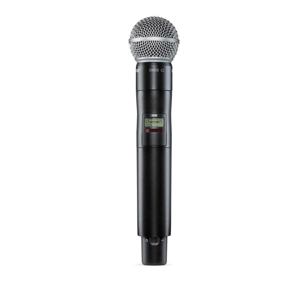 Shure Shure AD2/SM58=-X55 Handheld Wireless Microphone Transmitter