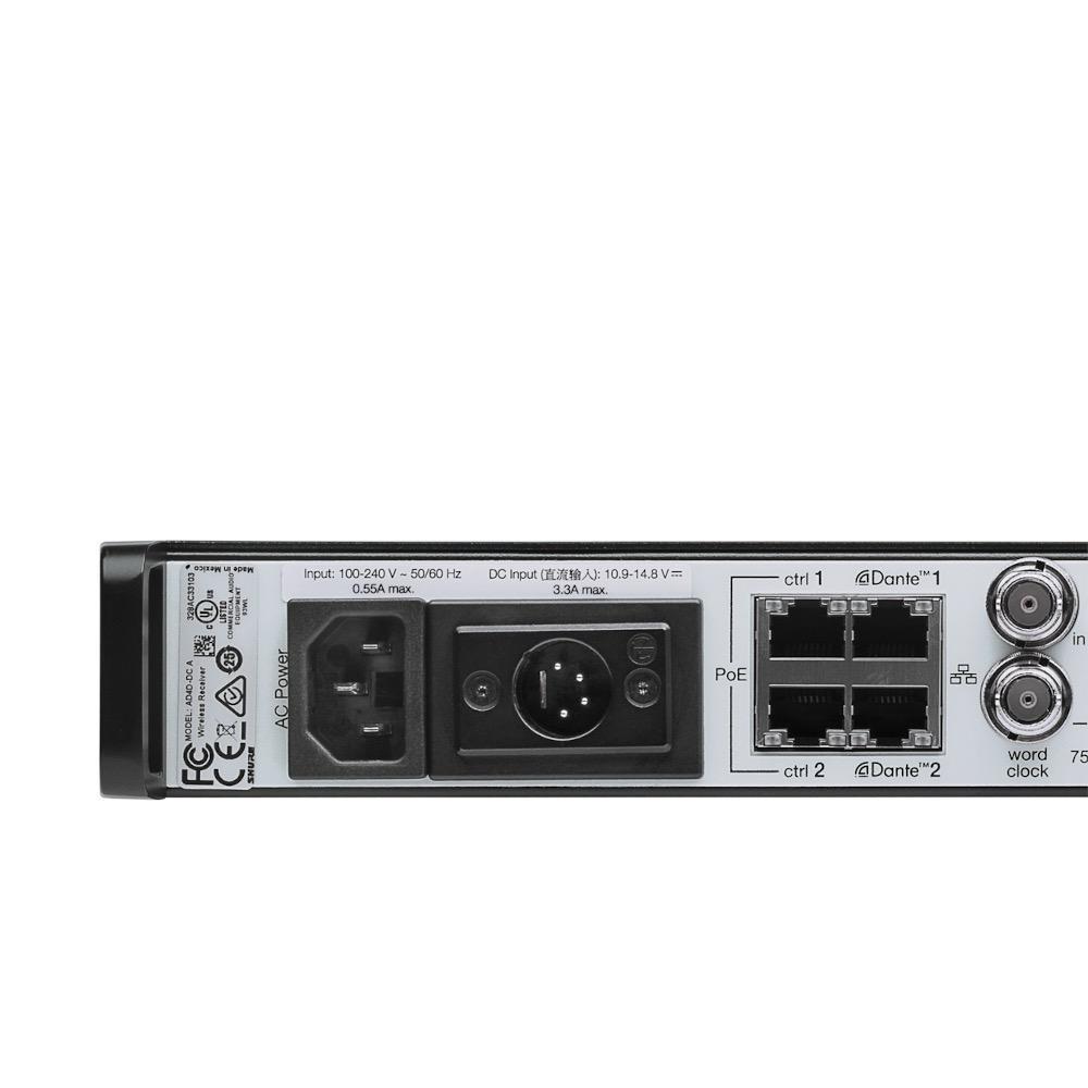 Shure Shure AD4DNP=-B Dual-channel receiver