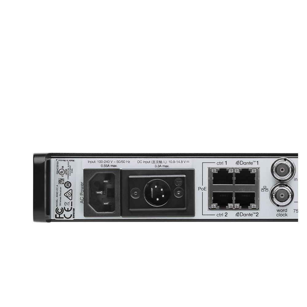 Shure Shure AD4QNP=-B Four--channel receiver.