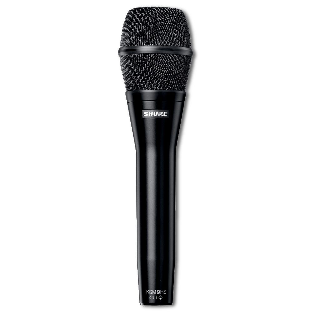 Shure Shure KSM9HS Dual-Pattern Vocal Microphone - Black