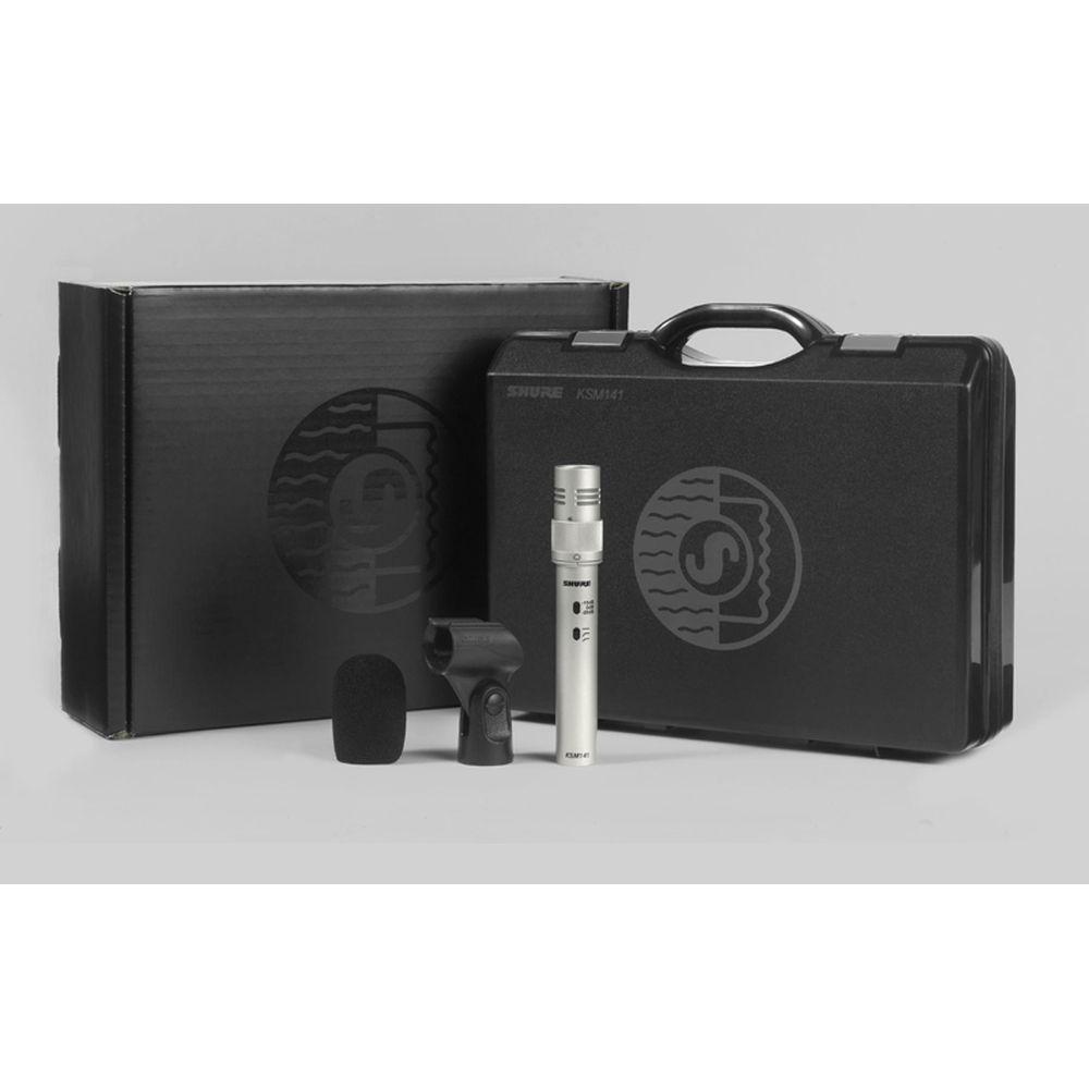 Shure Shure KSM141/SL Dual-Pattern Studio Condenser Microphone