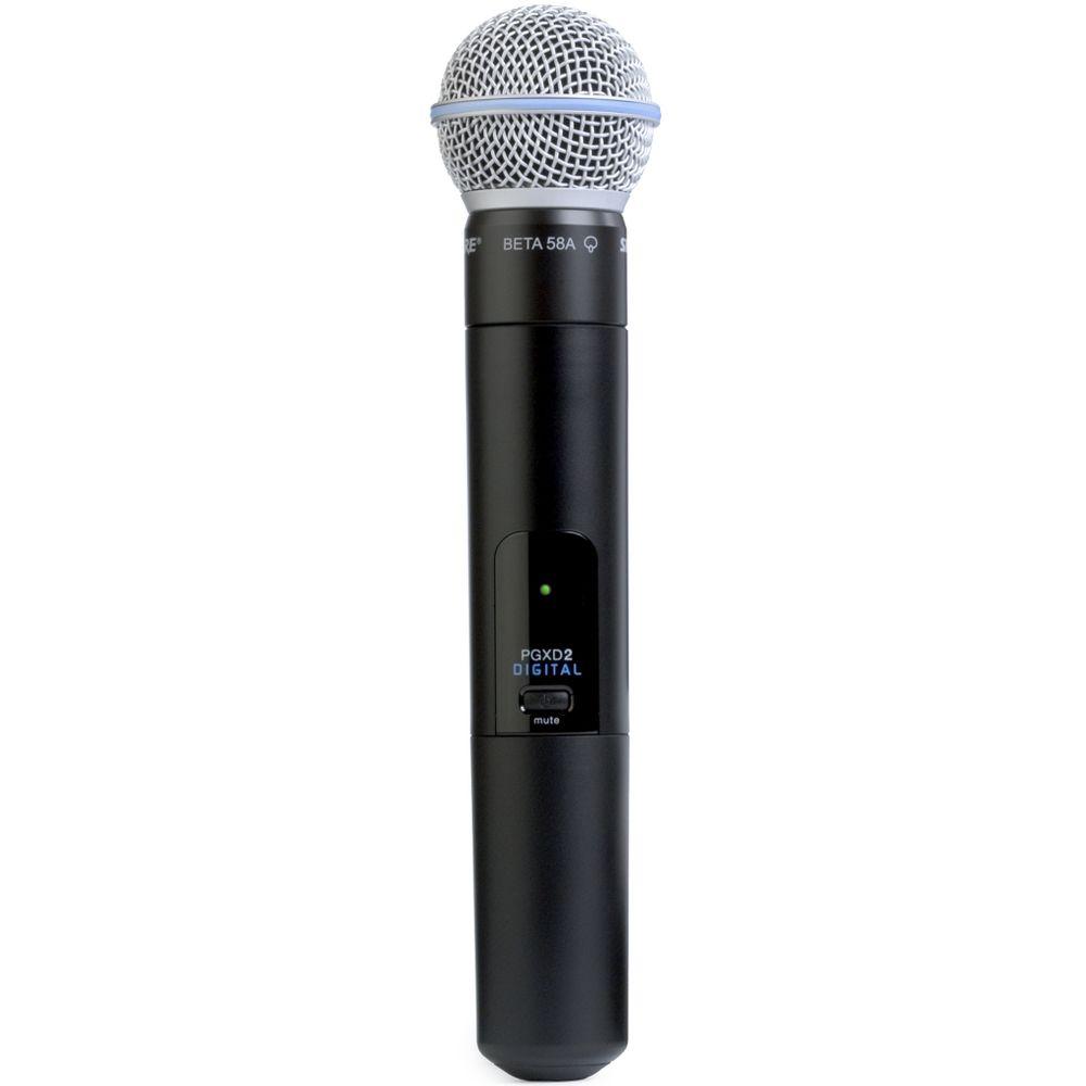 Shure Shure PGXD2/BETA58 Handheld Wireless Microphone Transmitter