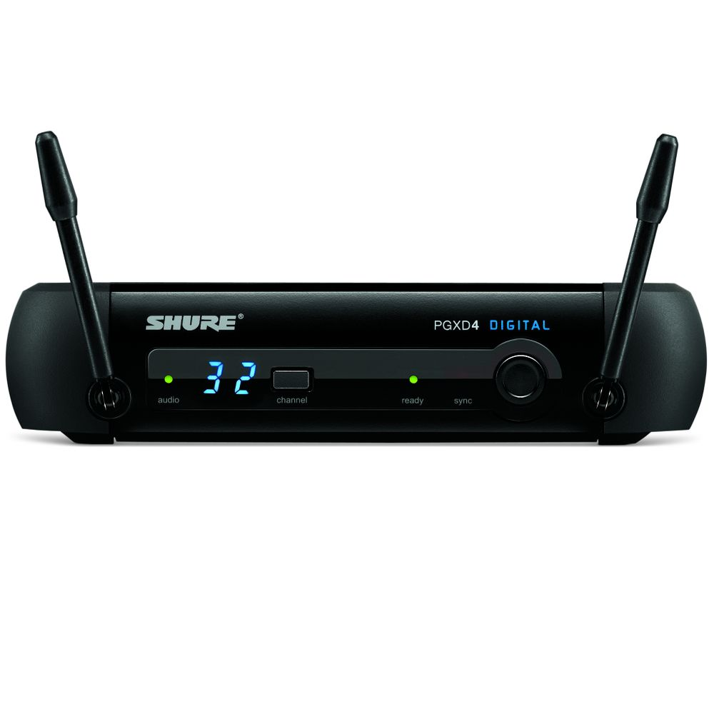 Shure Shure Pgxd4 Wireless Receiver Jss A Solotech Company