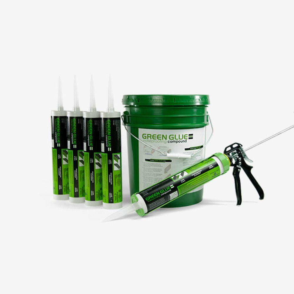 Green Glue Tube Application Gun