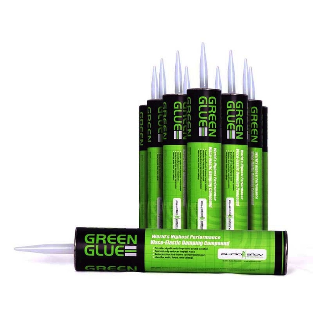 Green Glue Noiseproofing Compound - 12 Tube Case