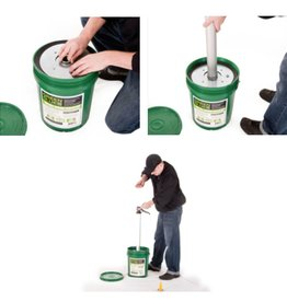 Green Glue Pail Follower Plate