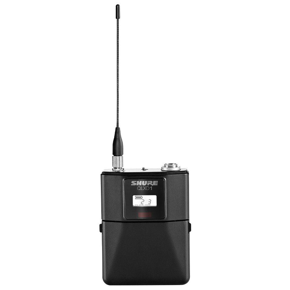 Shure Shure Qlxd1 Wireless Bodypack Transmitter Jss A Solotech Company