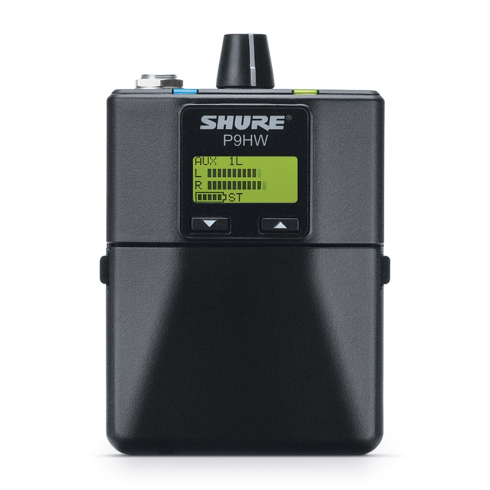 Shure Shure P9HW Wired Bodypack Personal Monitor