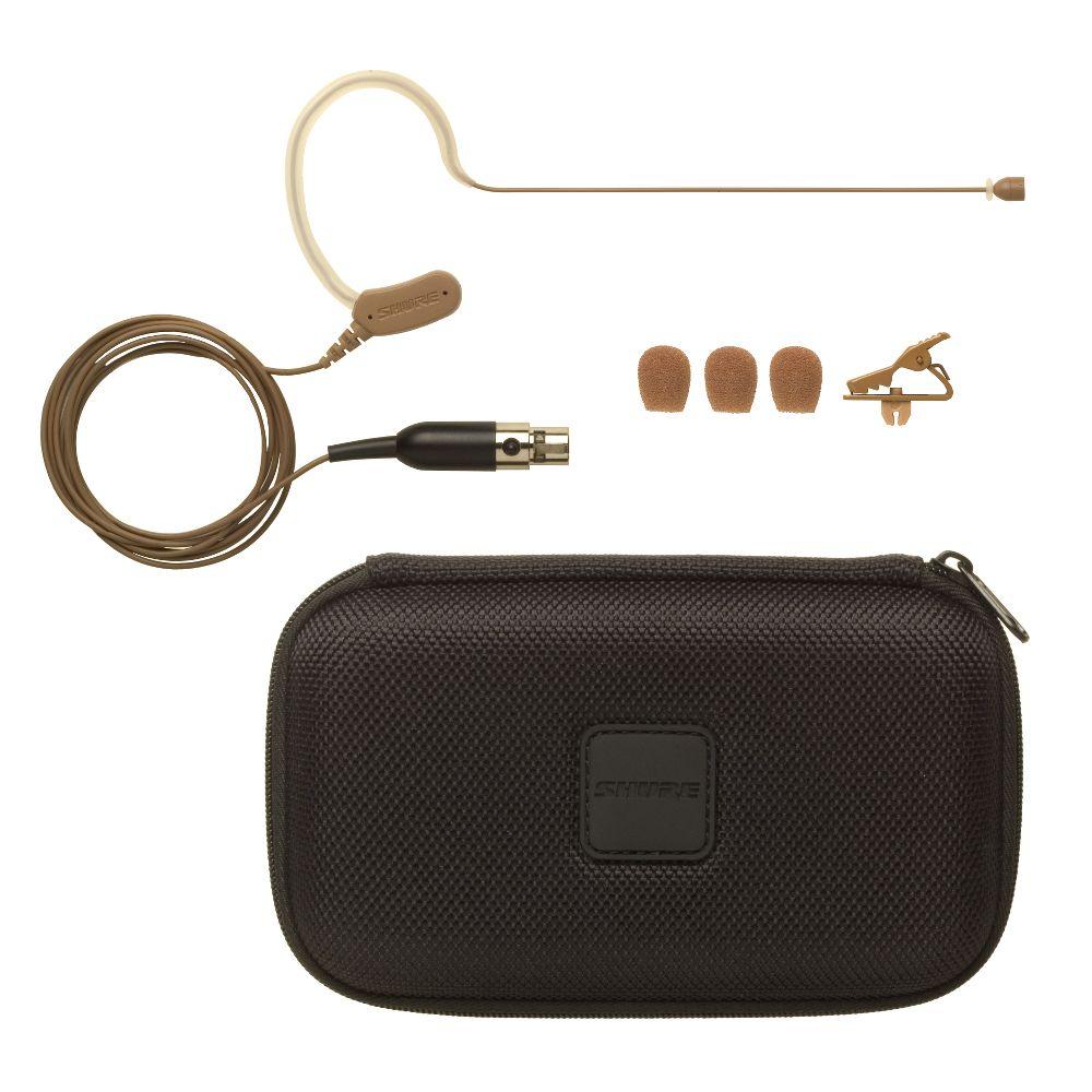 Shure Shure MX153C/O Earset Headworn Microphone - Cocoa