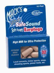 Mack's Mack's Ultra Soft Foam Ear Plugs - 60 Pairs, Beige