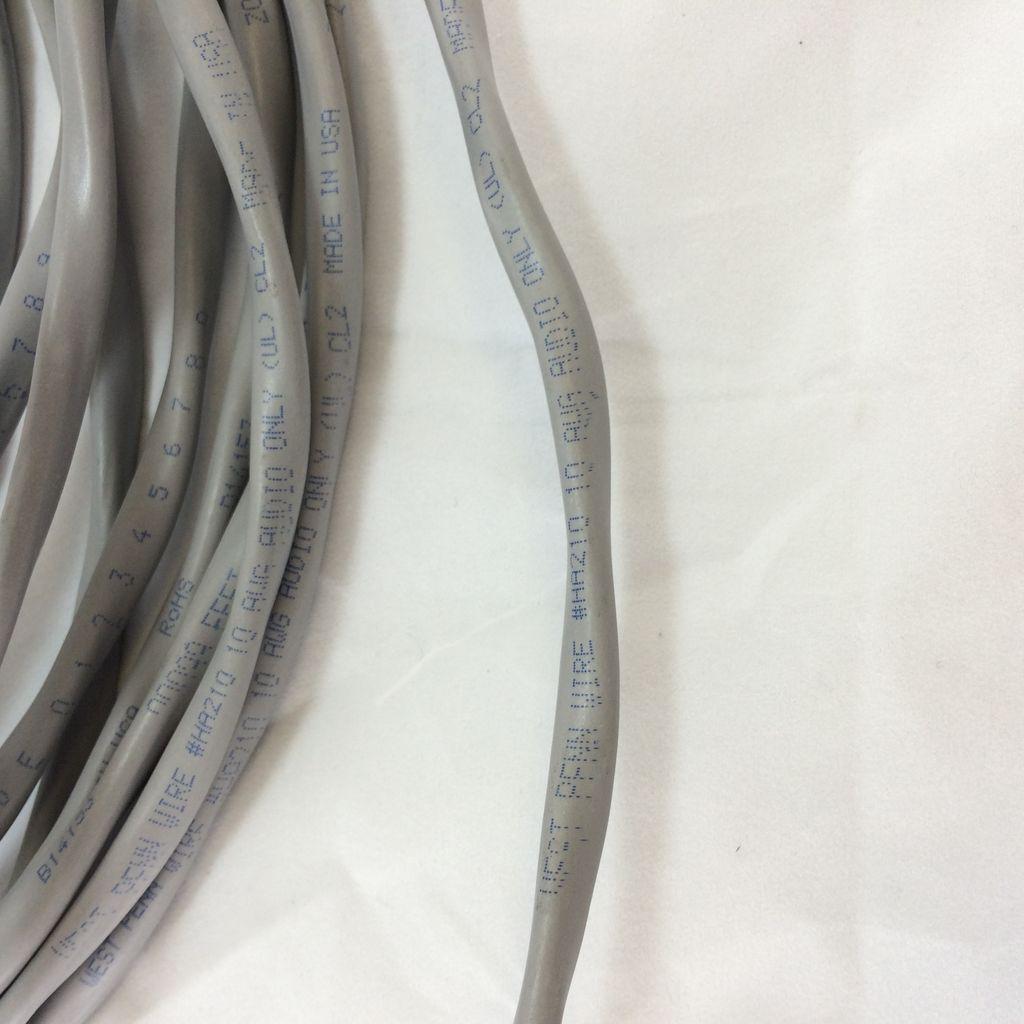 West Penn HA210 10AWG 2 Conductor Pre-Cut Speaker Wire - 26 Feet