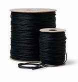 Rose Brand Rose Brand Tie Line (Unwaxed) Cotton #4 - 600 ft in Black