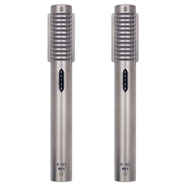 Royer Labs Royer R-122 MKII-MP Matched Pair Active Ribbon-Velocity Studio Microphone