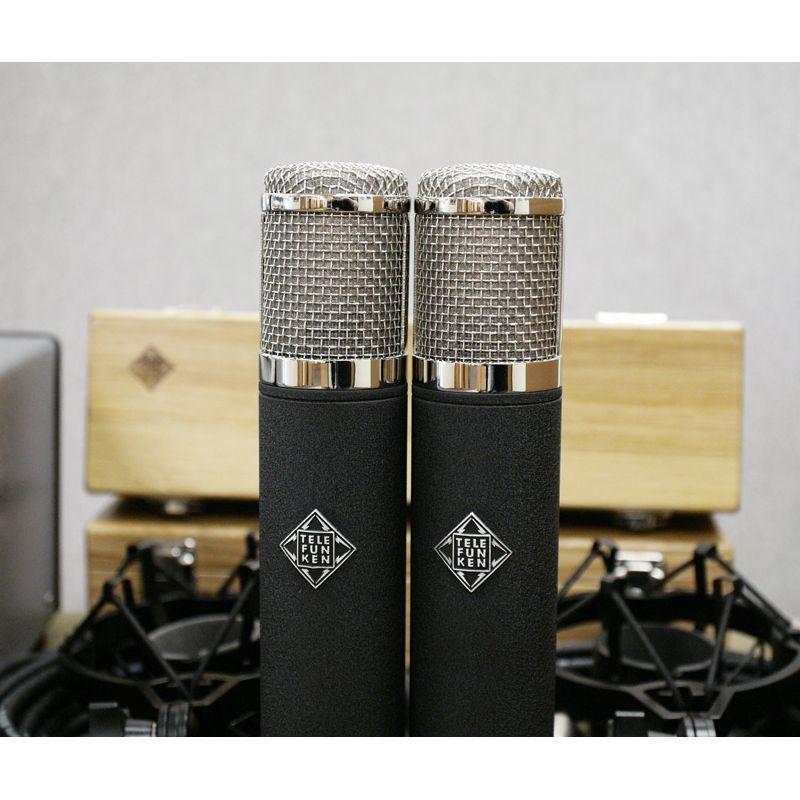 Telefunken Telefunken AK-47 MKII Stereo Large-Diaphragm Multi-Pattern Tube Microphone Set