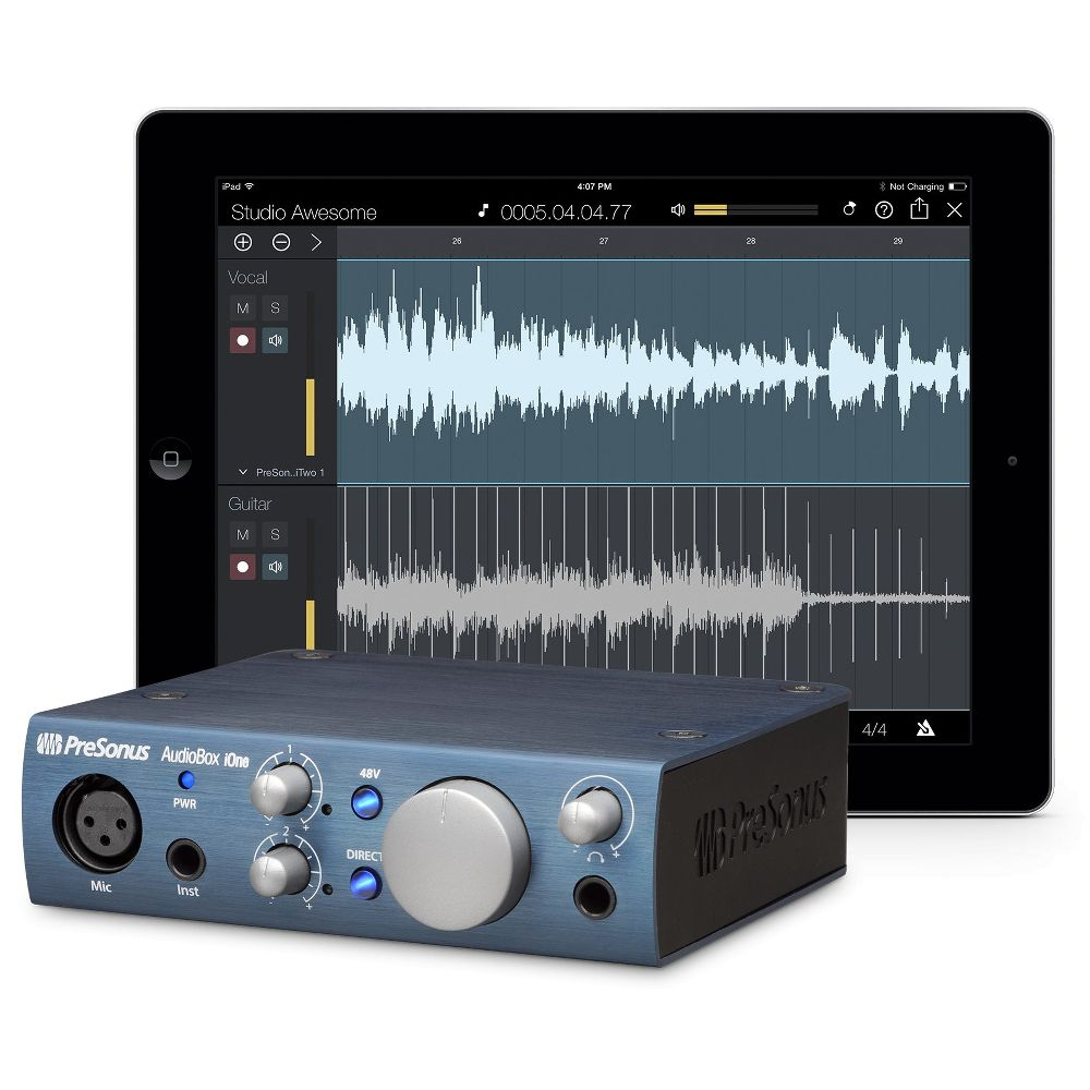 Presonus Presonus AudioBox iOne 2-in/2-out USB/iPad Audio Interface