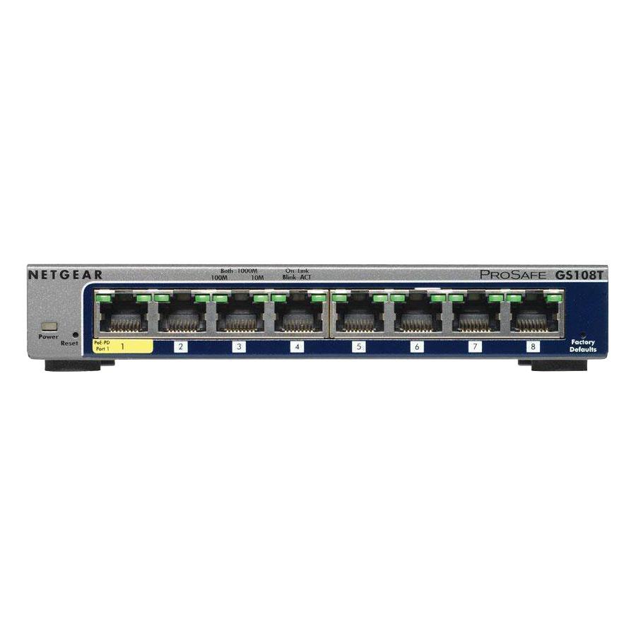 Shure myMix Multi8 8-port Managed Switch