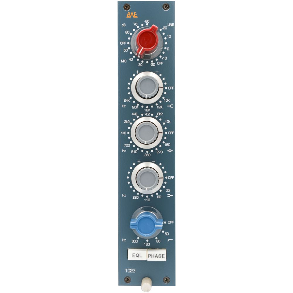 BAE BAE 1023 Channel Strip 10-Series Module