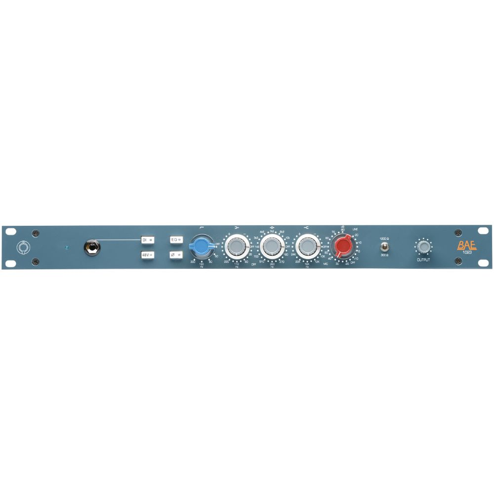 "BAE BAE 1023 Channel Strip 19"" Rackmount w/out PSU"