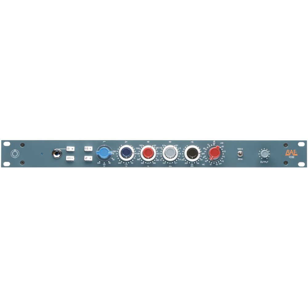 "BAE BAE 1032 Channel Strip 19"" Rackmount w/out PSU"