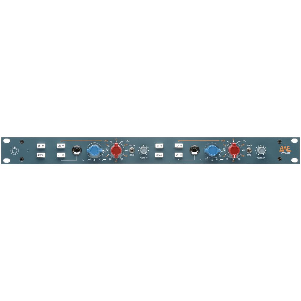 BAE BAE 1073MPF Dual-Channel Mic Pre & Filter w/out PSU