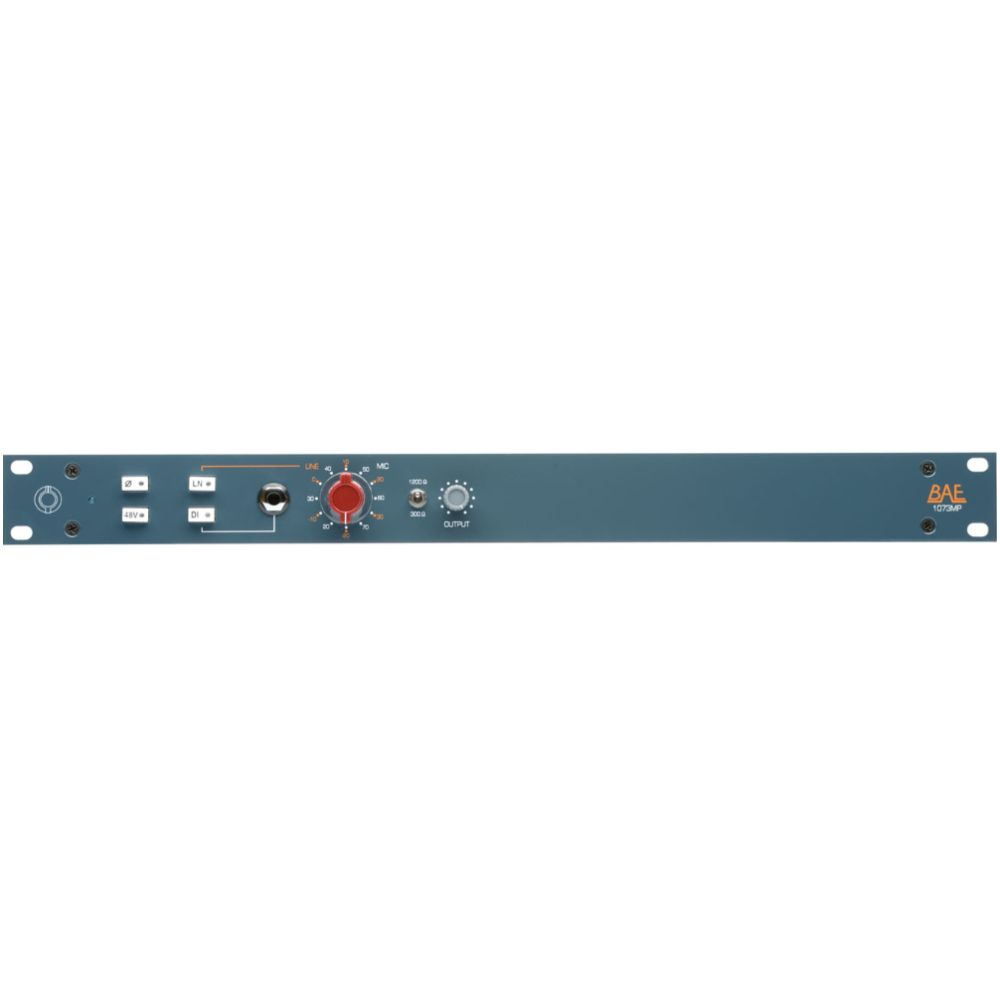 BAE BAE 1073MP Single-Channel Mic Pre w PSU
