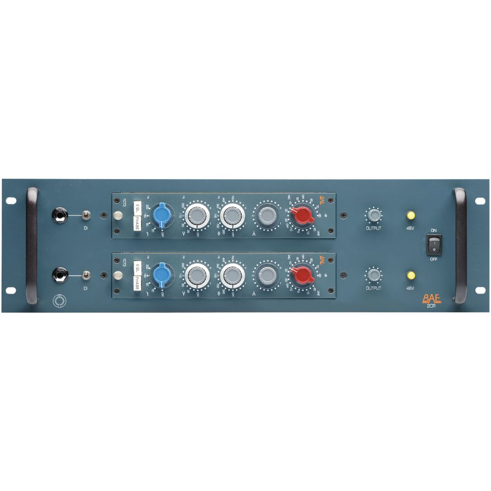 BAE BAE 2CR 2-Space 10-Series Rack