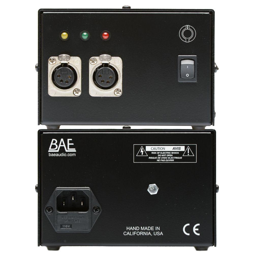 "BAE BAE 312A Dual Mic Preamp 19"" Rackmount w PSU"