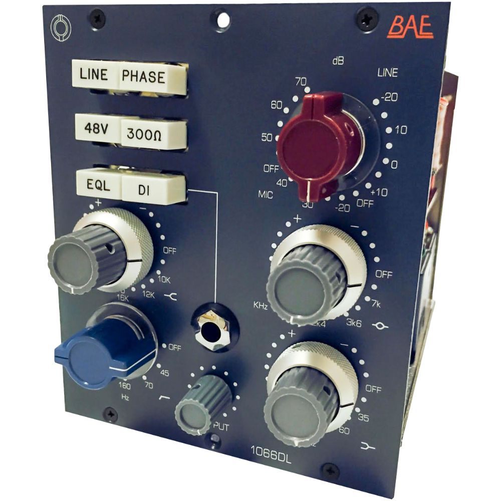 BAE BAE 1066DL Channel Strip 500-Series Module