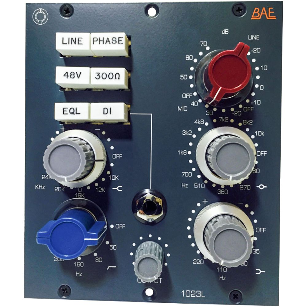 BAE BAE 1023L Channel Strip 500-Series Module