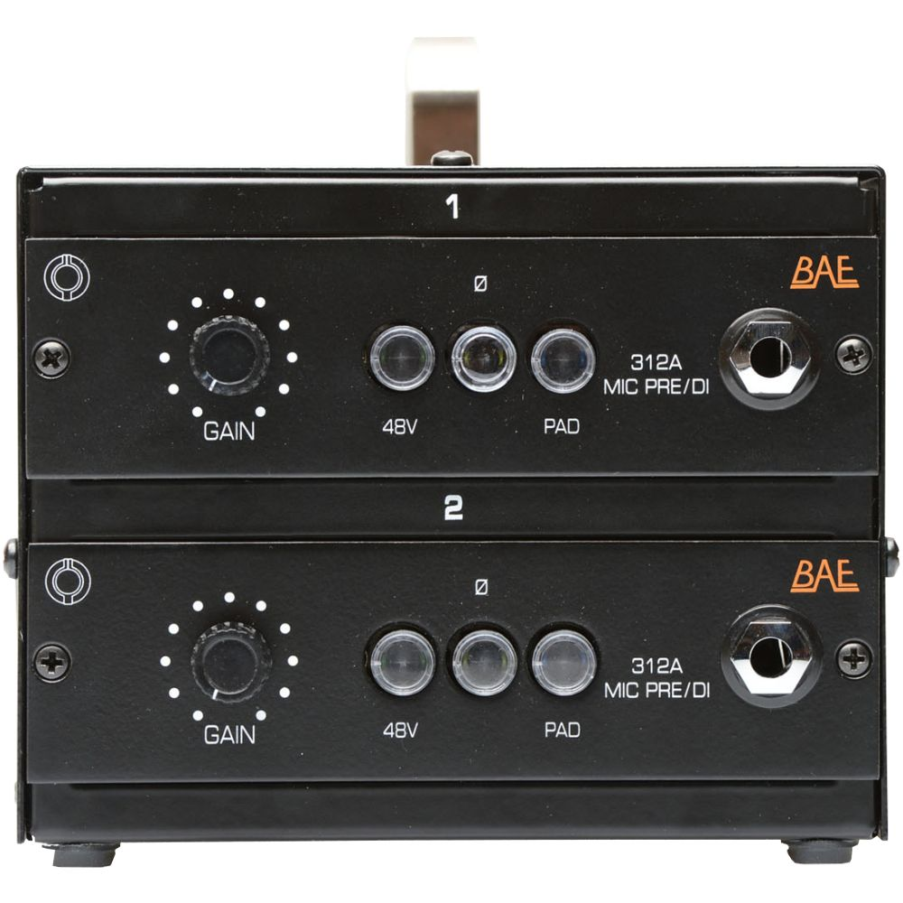 BAE BAE DLB Double Lunchbox w Two 312A Mic Pres