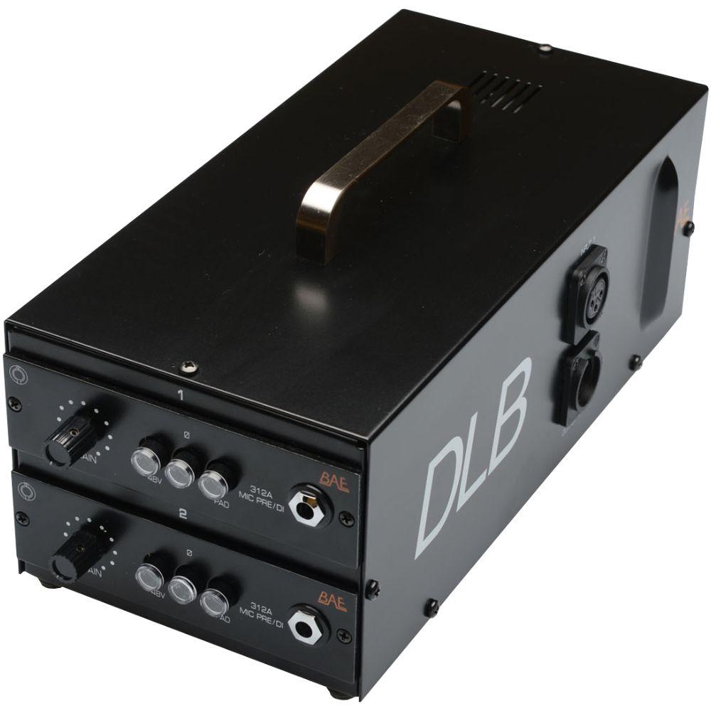 BAE BAE DLB Double Lunchbox w Two 312A Mic Pres