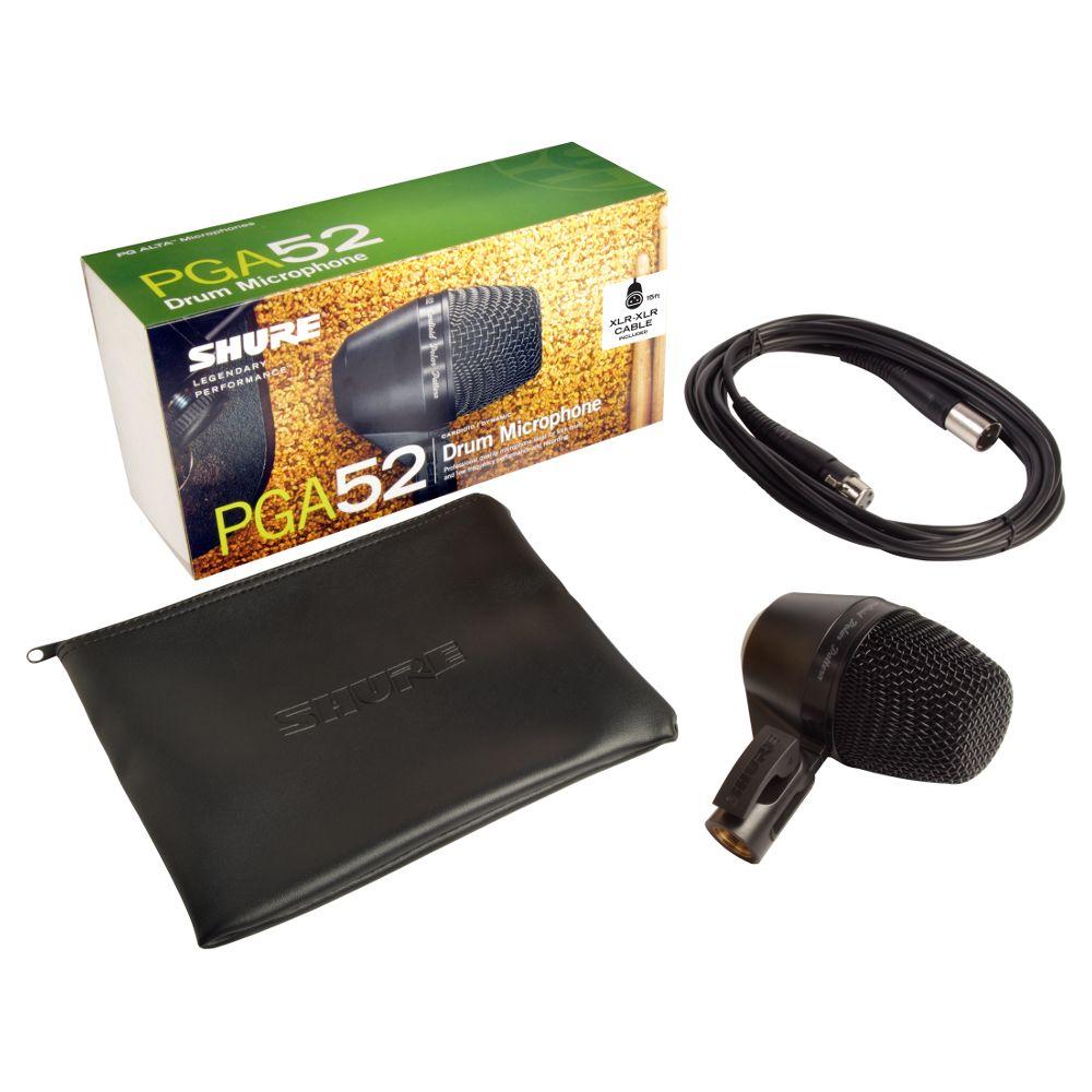 Shure Shure PGA52-XLR Cardioid Dynamic Kick Drum Microphone