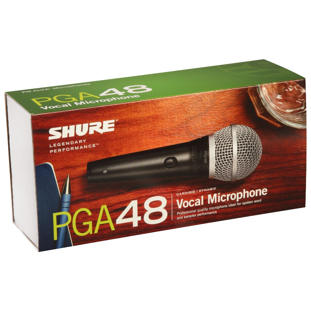 Shure Shure PGA48-LC Cardioid Dynamic Vocal Microphone
