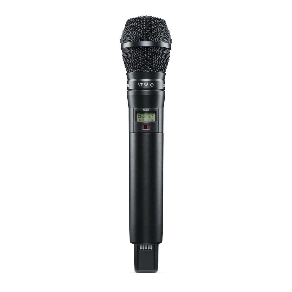 Shure ADX2/VP68=-X55 Handheld Wireless Microphone