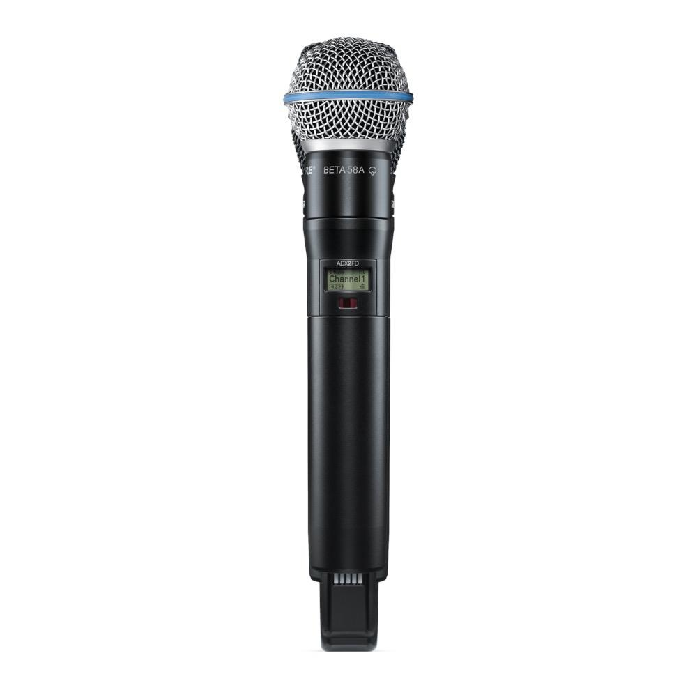 Shure ADX2FD/B58=-K54 Handheld Wireless Microphone