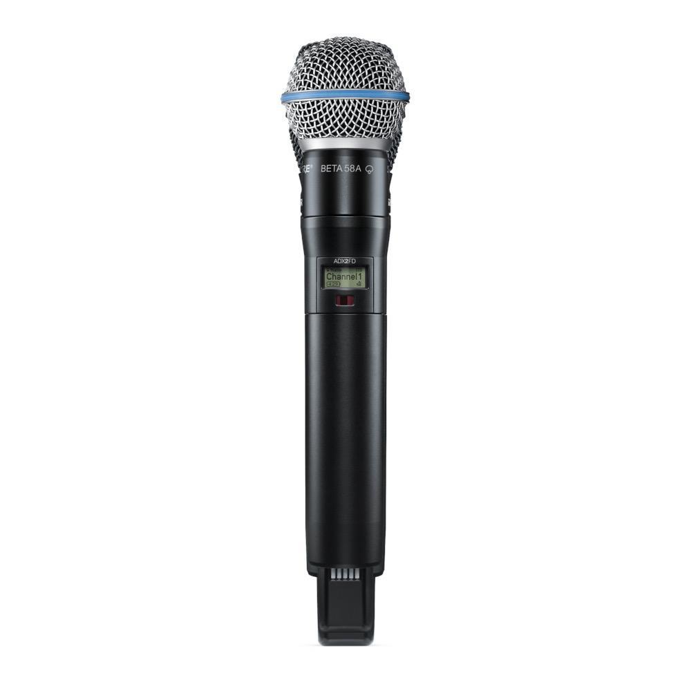 Shure ADX2FD/B58=-G57 Handheld Wireless Microphone