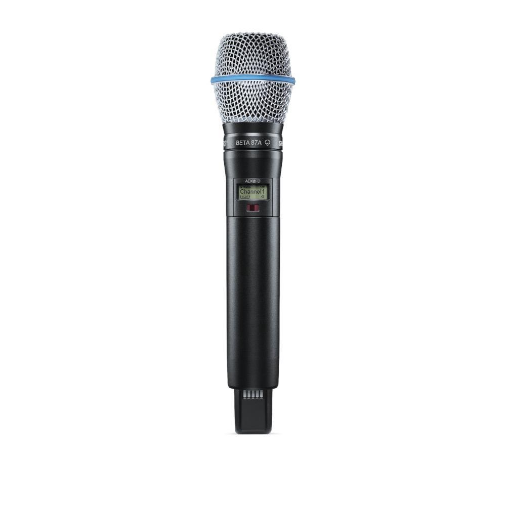 Shure ADX2FD/B87A=-K54 Handheld Wireless Microphone