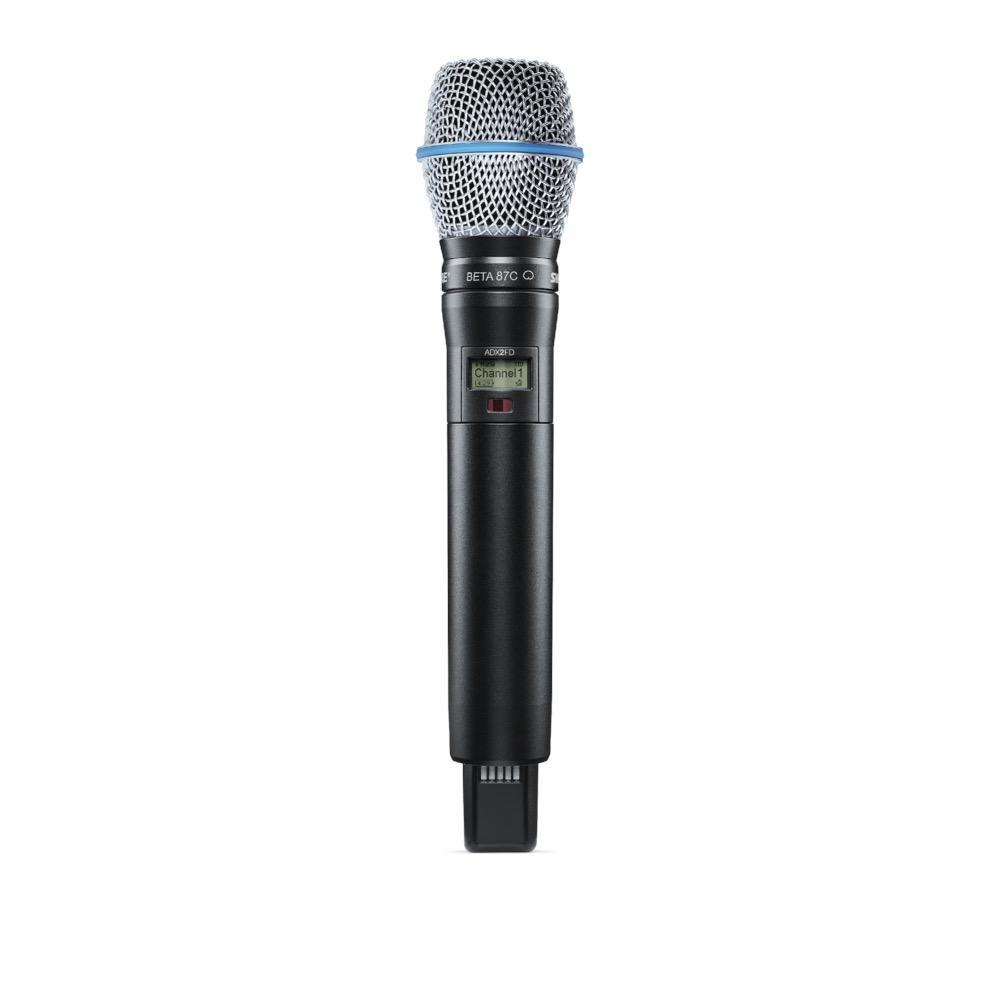Shure ADX2FD/B87C=-K54 Handheld Wireless Microphone