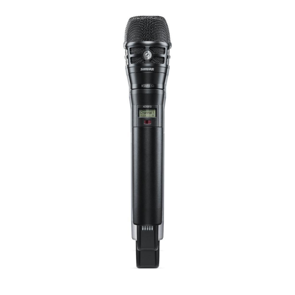 Shure ADX2FD/K8B=-K54 Handheld Wireless Microphone