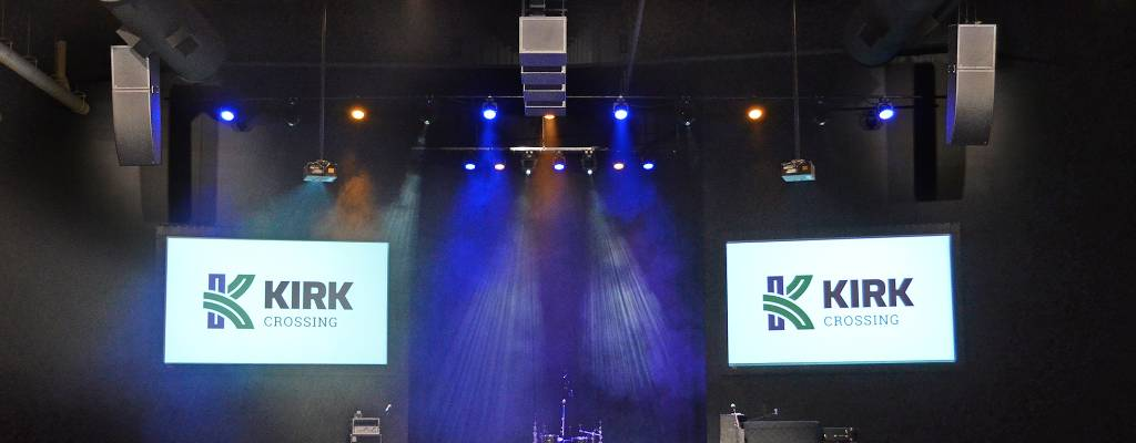 JSS Installs Worxaudio at The Kirk