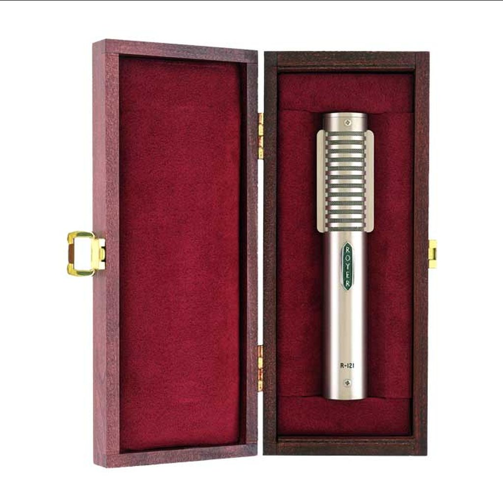 Royer Labs Royer R-121-MP Matched Pair Studio Ribbon Microphones