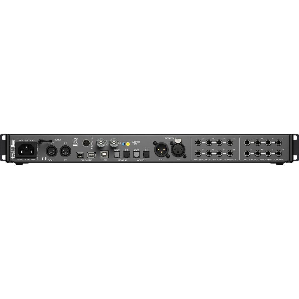 RME RME Fireface 802 60-Ch 192 kHz USB/FireWire Interface