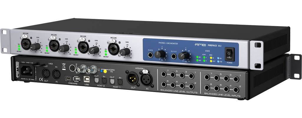 Product Focus: RME USB & Firewire Interfaces