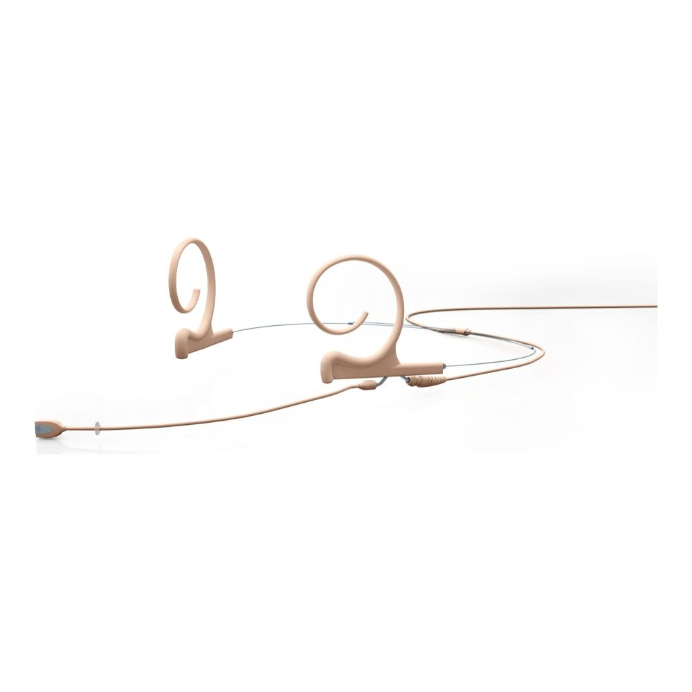 DPA Directional Headset, Beige, Medium 100 mm, Dual Ear, Microdot (Adaptor Required)