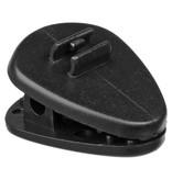 DPA Omnidirectional Headset, Black, Medium 90 mm, Single Ear, Microdot (Adaptor Required)