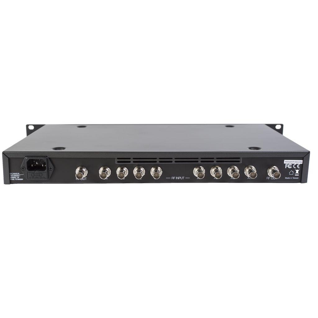 RF Venue RF Venue 4 Zone Antenna Combiner for Wireless Mics