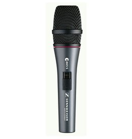 Sennheiser Sennheiser e865-S Handheld super-cardioid condenser microphone with on/off switch