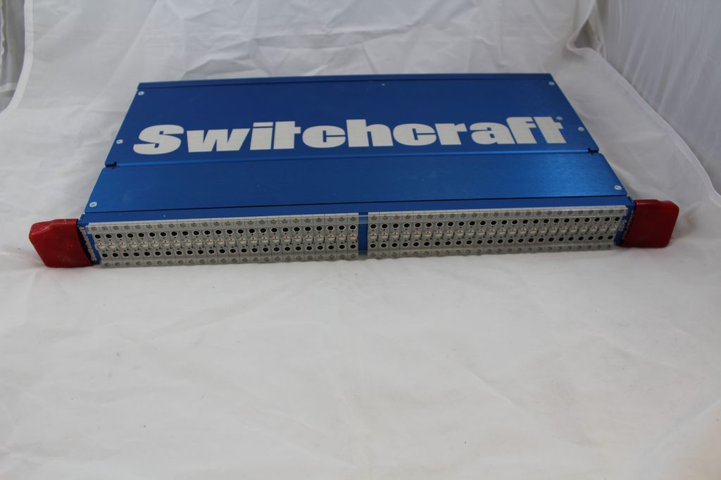 Consignment Switchcraft CM-9625 TT Patchbay TT-DB-25 Patchbay with Half-normal, Full-normal, or Non-normal Operation.