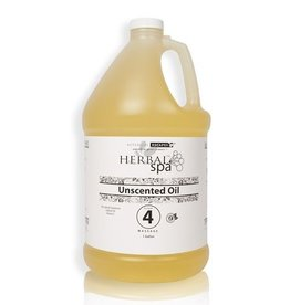 Herbal Spa Unscented Massage Oil Base 1 Gal (#4)