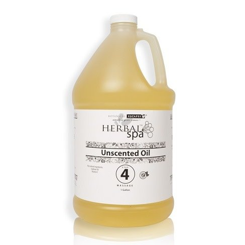 Herbal Spa Unscented Massage Oil Base 1 Gal (#4)